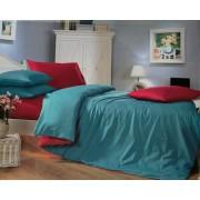 Комплект постельного белья с двухсторонним пододеяльником  020