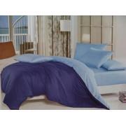 Комплект постельного белья с двухсторонним пододеяльником  02А