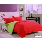 Комплект постельного белья с двухсторонним пододеяльником  009