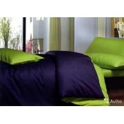 Комплект постельного белья с двухсторонним пододеяльником  со035