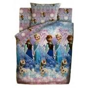 """Детский комплект Disney """"Холодное сердце-сестры и Олаф"""" 8990+8991 бязь"""