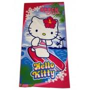 "Полотенце пляжное детское "" Hello Kitty """