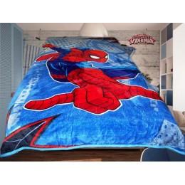 """Детский плед """"Человек паук- Спайдер Мен 2 """" 140 х 200см. тм Absolute"""