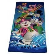 Детское пляжное полотенце  75х145см
