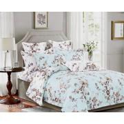 Комплект постельного белья семейный-дуэт (ТЕНСЕЛ) 036
